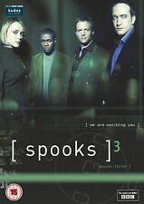 Spooks Series 3 2002  Keeley Hawes, Peter Firth, Matthew Macfadyen, Hugh DVD