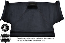 BLACK STITCH FRONT ROOF HEADLINING PU SUEDE COVER FITS VW CADDY MK3 05-15