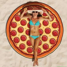Pizza Slice - Jumbo Beach Pool Home Shower Towel Blanket ~ BigMouth Inc