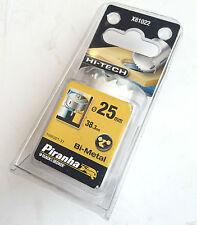 "Black & Decker Piranha Bimetal 25mm 1 ""de alta tecnología Metal Madera Serrucho Taladro x81022"