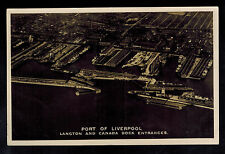 1928 Devonshire England to Scotland Postcard Cover Port of Liverpool Entrance