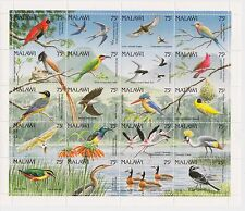 Malawi - Birds, 1992 - Sc 598 Sheetlet of 20 MNH