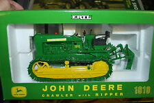 1/16 John Deere 1010 crawler dozer w/ ripper by Ertl, NICE!, Hard to find