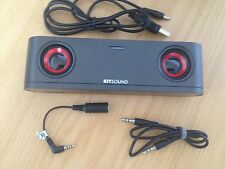 KITSOUND X3 UNIVERSAL SPEAKERS FOR IPHONE 4,3GS, IPODS & MOBILE PHONES S2