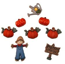 Jesse James Buttons - Dress It Up ~ Pumpkin Patch 3256 ~ Scarecrow ~ Fall