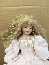 DOLL:  PORCELINE DRESSED IN A VINTAGE/RENAISSANCE TYPE DRESS