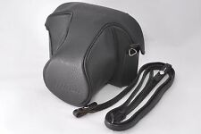 F/S* Nikon CF-1 Leather Camera Case w/ Strap for Nikon F2 Free Ship from Japan