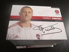44708 Timmy Simons 1.FC Nürnberg 12-13 original signierte Autogrammkarte