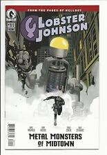 LOBSTER JOHNSON: METAL MONSTERS OF MIDTOWN #1 (Dark Horse Comics 2016) NM NEW