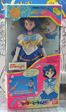 "Sailor Mercury 11"" Chara Talk doll Sailor Moon SuperS Japanese Bandai Japan 1995"