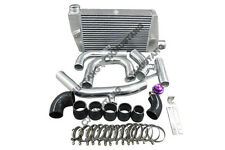 Bolt on Intercooler Kit For 07 + Mitsubishi Lancer Evolution EVO X Black + BOV