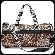 Victoria's Secret VS PINK CHEETAH LEOPARD PRINT Gym Duffle Duffel Bag NEW ❤️