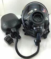 SGE 400/3 Infinity NBC Tactical Gas Mask w Drinking Port & Canteen  made in 2017