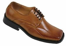Men's High Quality Man-Made Leather Dress Shoes w/ Square Toe Size 8.5-13 A3391