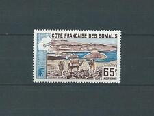CÔTE DES SOMALIS - 1965 YT 44 - POSTE AÉRIENNE - TIMBRE NEUF* trace de charnière