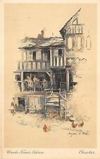 BR58337 uncle tom s cabin   chester painting postcard uk
