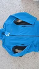 NEW COLUMBIA WESTBANK HYBRID FLEECE JACKET MENS M BLUE FREE SHIP