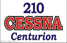 A150 210 Cessna Centurion Airplane banner plane hangar garage decor signs