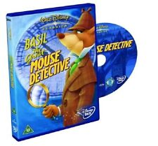 BASIL THE GREAT MOUSE DETECTIVE DVD Genuine Walt Disney Cartoon Brand New Sealed