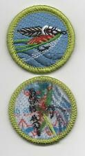 "Fly Fishing Merit Badge, Type L, ""Since 1910"" Back (2012-Current)"