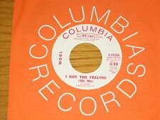 """PROMO 70s ROCK 45 RPM - WOOL - COLUMBIA 45586 - """"I GOT THE FEELING (OH NO)"""""""