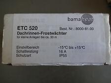 Dachrinnen-Frostwächter ETC520 -15..+15°C IP55 16A