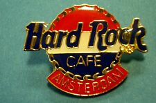 HRC Hard Rock Cafe Amsterdam Old Logo Flag Colored 4LC