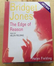 AUDIO BOOK: Helen Fielding - THE EDGE OF REASON - BRIDGET JONES on 2 x cass