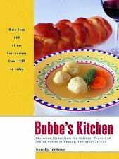 Bubbe's Kitchen: Cherished Dishes from the National Council of Jewish -ExLibrary