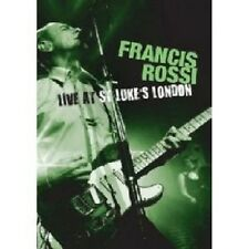 """FRANCIS ROSSI """"LIVE AT ST. LUKE'S, LONDON"""" BLU RAY NEW+"""