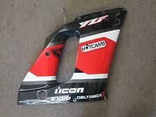 2000 Yamaha R6 right mid cowling/fairing (black,white,red)