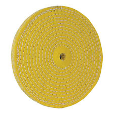 150mm SISAL BUFFING WHEEL SPIRAL STITCHED FOR REMOVING GRINDING MARKS