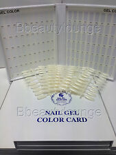120 Tip White Nail Colour Chart Display Book Fop UV/LED Gel Polish BUY 2 = GIFT!