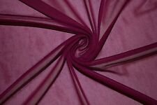 """Jam Chiffon Knit Sheer 60"""" Wide 100% Polyester Sewing Dress Fabric BTY"""