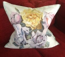 DESIGNERS GUILD FABRIC CUSHION COVER VIOLA HEATHER  60X60CM
