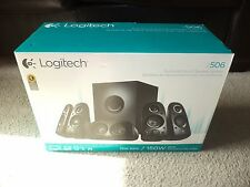 Brand new Logitech - Z506 75W Surround Sound Speakers system (6-Piece) - Black