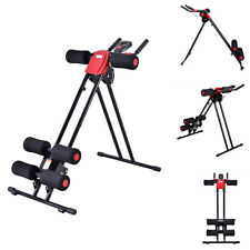 Finether AB Cruncher Abdominal Trainer Glider Machine Fitness Exercise Equipment