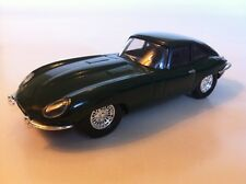 PART WORK DIECAST 1/43 1962 JAGUAR E-TYPE COUPE IN BRITISH RACING GREEN NEW