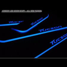 LED Door Sill Scuff Plates for Hyundai Tucson TL 2016+