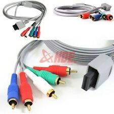 Component RCA Audio Video High Def HDTV AV Adapter Cable Cord For Nintendo Wii