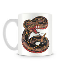 Diamond Back Rattlesnake Tattoo Snake Cool Design Mug