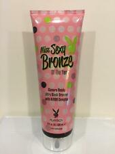 Playboy MISS SEXY BRONZE Ultra Black Bronzer Tan Indoor Tanning Bed Lotion