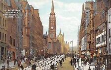 BR93524 the royal mile edinburgh black watch passing the netherbow scotland