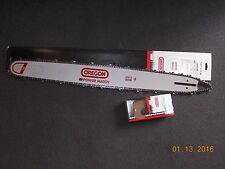 "28"" Oregon 280RNDD009  chainsaw guide bar & 72LGX093G Full chisel chain"