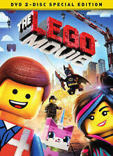 The LEGO Movie (DVD) Special Edition, New Disc, Morgan Freeman, Liam Neeson, Cha