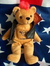 HRC Hard Rock Cafe Lisbon Lissabon Punk Bear Mohawk 2010 Red Hair Herrington