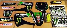 Kx 85 99-13 Kawasaki Graphics Kit Free Pro Taper Pad and Troylee Grip 16 Free Sh