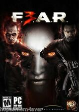 New and Sealed - FEAR F.E.A.R 3 PC Game 2011 *FREE 1ST CLASS SHIP Shooter Horror