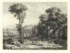 106 Paysage Avec Troupeau De Chevre 1804 Photo Print A4