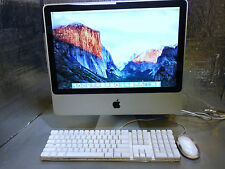 "Apple Imac 2009 A1224 9,1 20""  Imac 4GB 6GB DDR3 640GB 2.66GHz Intel Core 2 Duo"